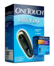 OneTouch Ultra Easy Blood Glucose Meter + 25 Test Strips - $59.90