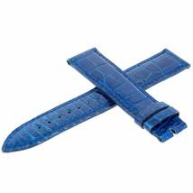 Franck Muller 20K Genuine Alligator Leather Blue 18 - 16 mm Watch Band - $384.54