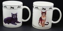 Cats Lovers Mugs Abyssinian Turkish Van Chartreux Brown Mackeral Tabby S... - $9.99