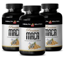 Maca Premium - MACA 1300MG - Sexual Supplement - 3 Bottles 180 Tablets - $28.01