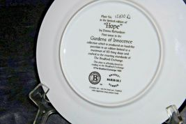 """""""Hope"""" Commemorative Plate by Donna Richardson AA20-CP2312 Vintage Gardens of In image 7"""