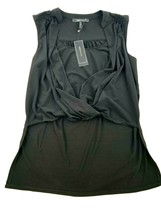 New Bcbg Maxazria Women Blouse YDM1242720-001 052019 Black S Msrp - $41.96