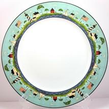 "Sakura Coastal Breeze Chop Plate 12.5"" Platter Nautical Design by Warren Kimble - $17.15"