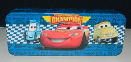 Walt Disney's Cars Characters Tin Catch All Pencil Case Style C, NEW UNUSED - $3.99