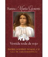 Santa María Goretti: Vestida toda de rojo - $21.95