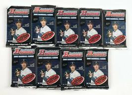 Lot of (9) 2005 Boman Baseball Packs - 10 Cards Each - Unopened Sealed V... - $49.49