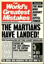 Del Mondo Greatest Errori di Nigel Blundell 1984, Libro in Brossura U.S.A - $10.74