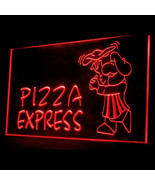 110066B OPEN Pizza Express Shop Cafe Chicken Anniversary Itlaian LED Lig... - $17.99