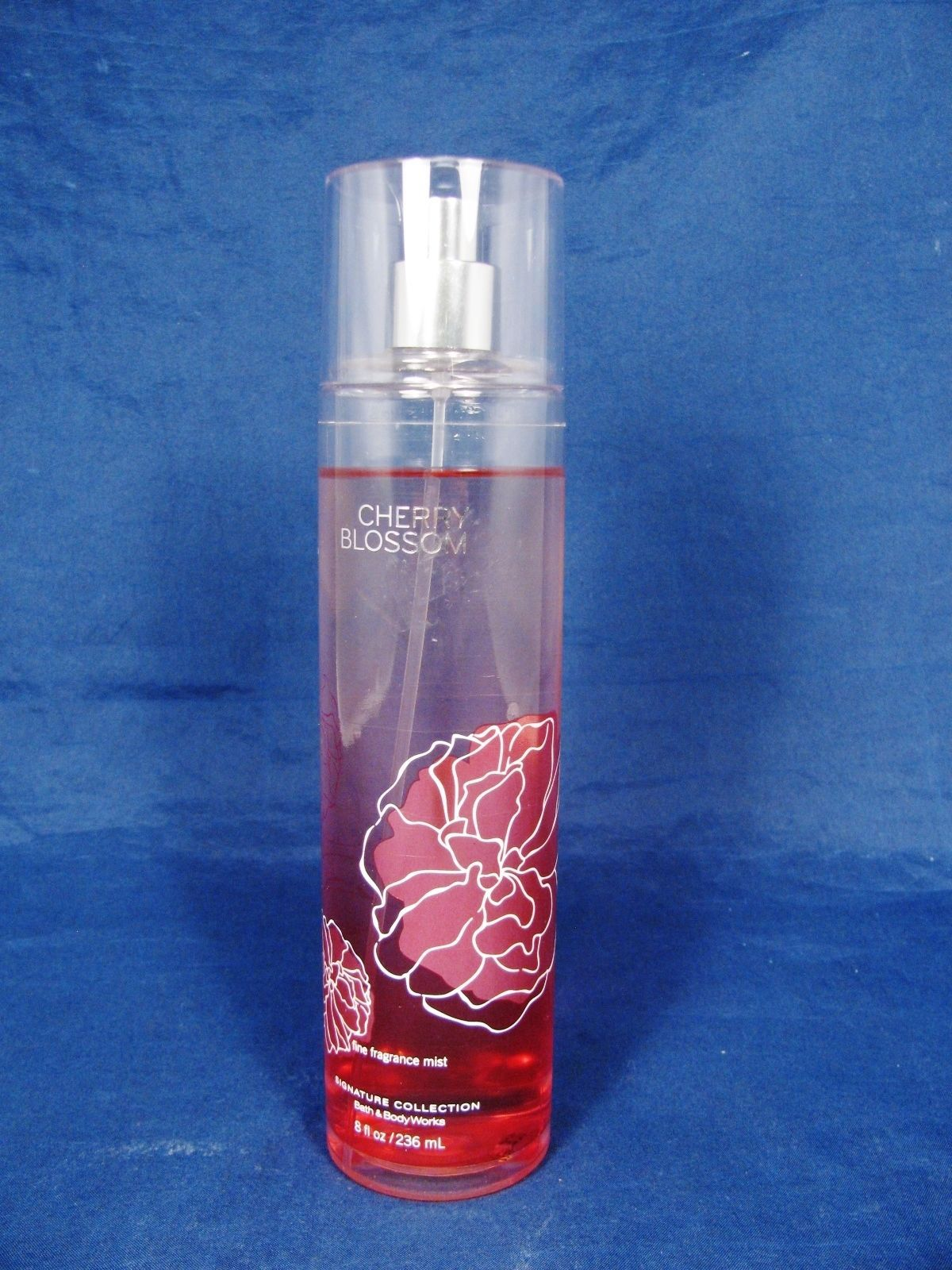 Primary image for BATH & BODY WORKS Cherry Blossom Fine Fragrance Mist  8 Fl Oz  95% Full