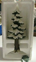 "Dept 56 Village Porcelain Pine Large Mint in Box 8 1/2"" Heritage Village... - $24.75"