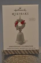 Hallmark  Anniversary Celebration  Personalize with Charms  Keepsake Ornament - $7.83