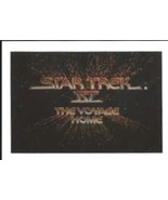 Star Trek IV: The Voyage Home Trading Cards Full Card Set FTCC 1987 NEAR... - $19.34