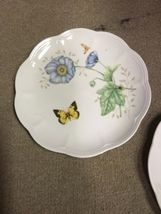 """Set of 2 Lenox Butterfly Meadow Monarch 9 1/4"""" Luncheon Plates image 6"""