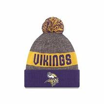 Era Knit Minnesota Vikings Purple On Field Sideline Sport Knit Winter St... - $31.52