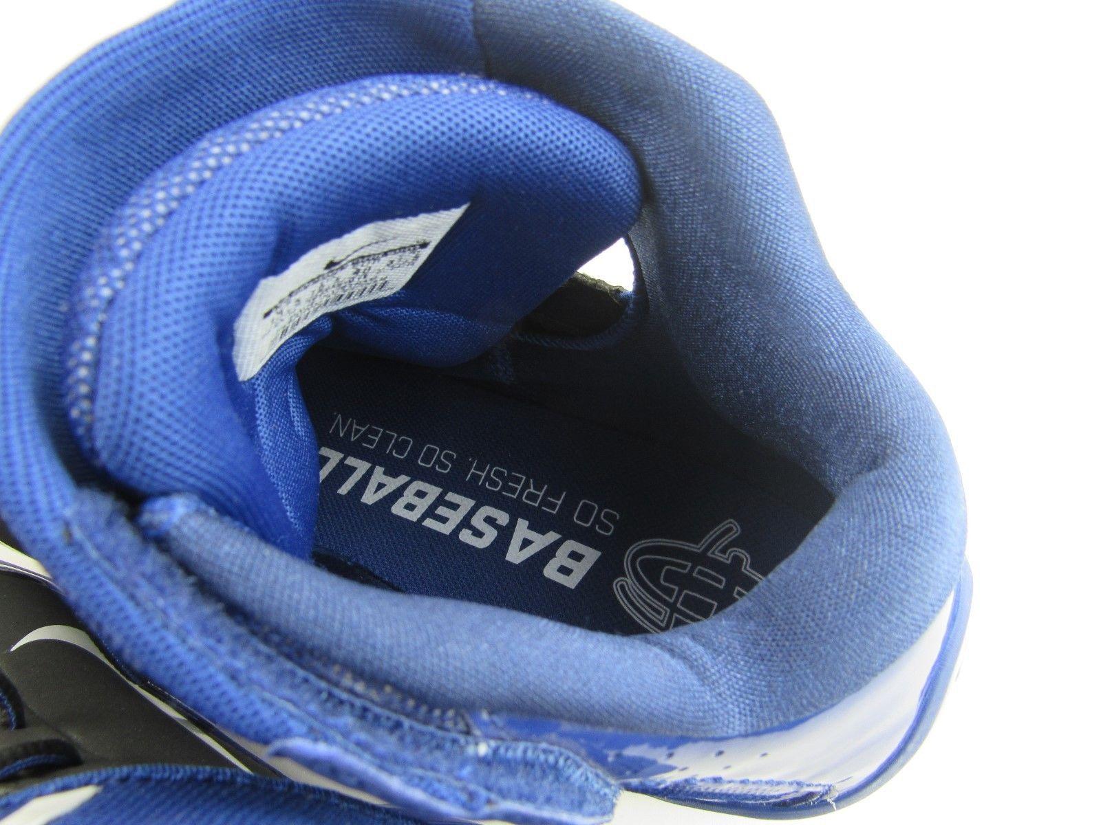 54fd15b0d30e3 Nike Huarache Pro Mid Metal Baseball Cleats 599235 014 MSRP  95 Men s Size  13.5