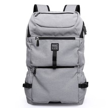 Casual Canvas Backpack for Men Boys School Backpack College Bookbag - $59.99