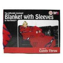The Northwest Company NCAA Ole Miss Comfy Throw Blanket with Sleeves - $23.75
