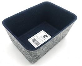 WELAXY Felt Office Drawer Organizer Bins Desktop Storage bin for Key Org... - $11.68