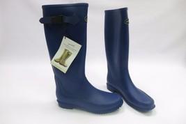 Gumleaf Rubber Boots Women's Size 7  EU 39, uk 6 Not hunter Navy Blue NWT - $2.366,48 MXN