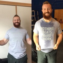 Nothing Beats Hard Work T-shirt For Fan Gym Workout You Can Go Home Now T-shirt - $16.99+