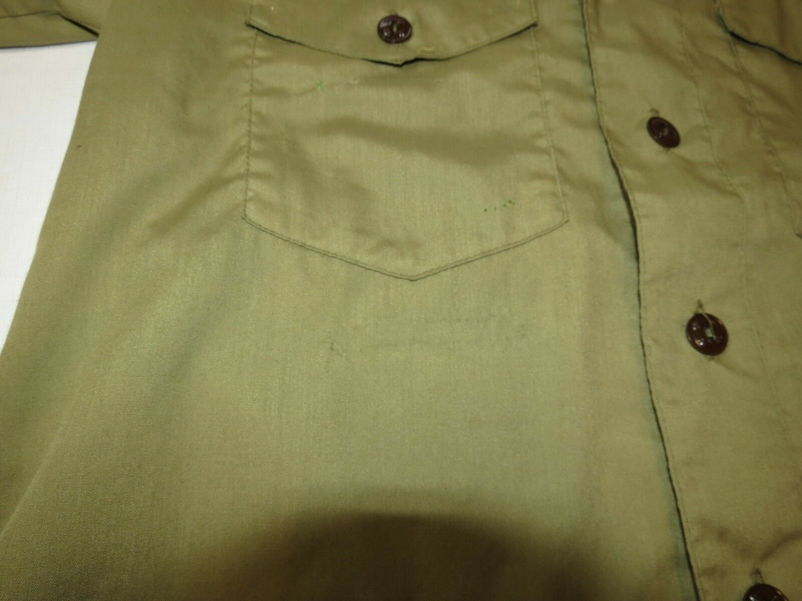 Boy Scouts of America Official Shirt boys youth short sleeve button up shirt