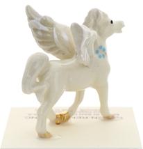 Hagen-Renaker Miniature Ceramic Pegasus Figurine Standing and Lying Set of 2 image 5
