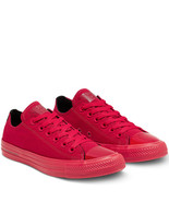Womens Converse X OPI CTAS Ox Canvas 165630C Red/Black Multi Sizes NWB U... - £30.08 GBP