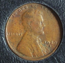 1929-S Lincoln Wheat Back Penny EF #1037 - $4.59