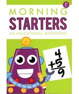 First Grade - Morning Starters Educational Workbooks -v4 (Assorted may v... - £5.47 GBP