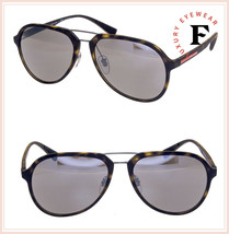 PRADA LINEA ROSSA Sport Havana 05R Mirrored POLARIZED Aviator Sunglasses... - $226.71
