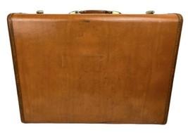 Vintage 50s Samsonite Suitcase~Shwayder~Caramel Brown~4635~24x18x8 - $63.36