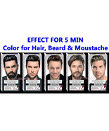ELEA for MEN Effect for 5 MIN Colour for Hair, Beard and Moustache 100ml. - $6.35