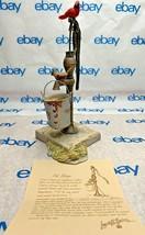 "Lowell Davis ""Pit Stop"" Figurine 1989 Schmid Birds Pump 21005 Fox Fire Farm Club - $131.16"