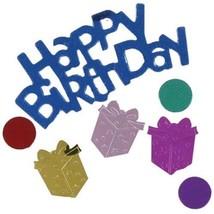 Confetti Birthday Present Mix 14 gms tabletop confetti bag FREE SHIPPING - $3.95+