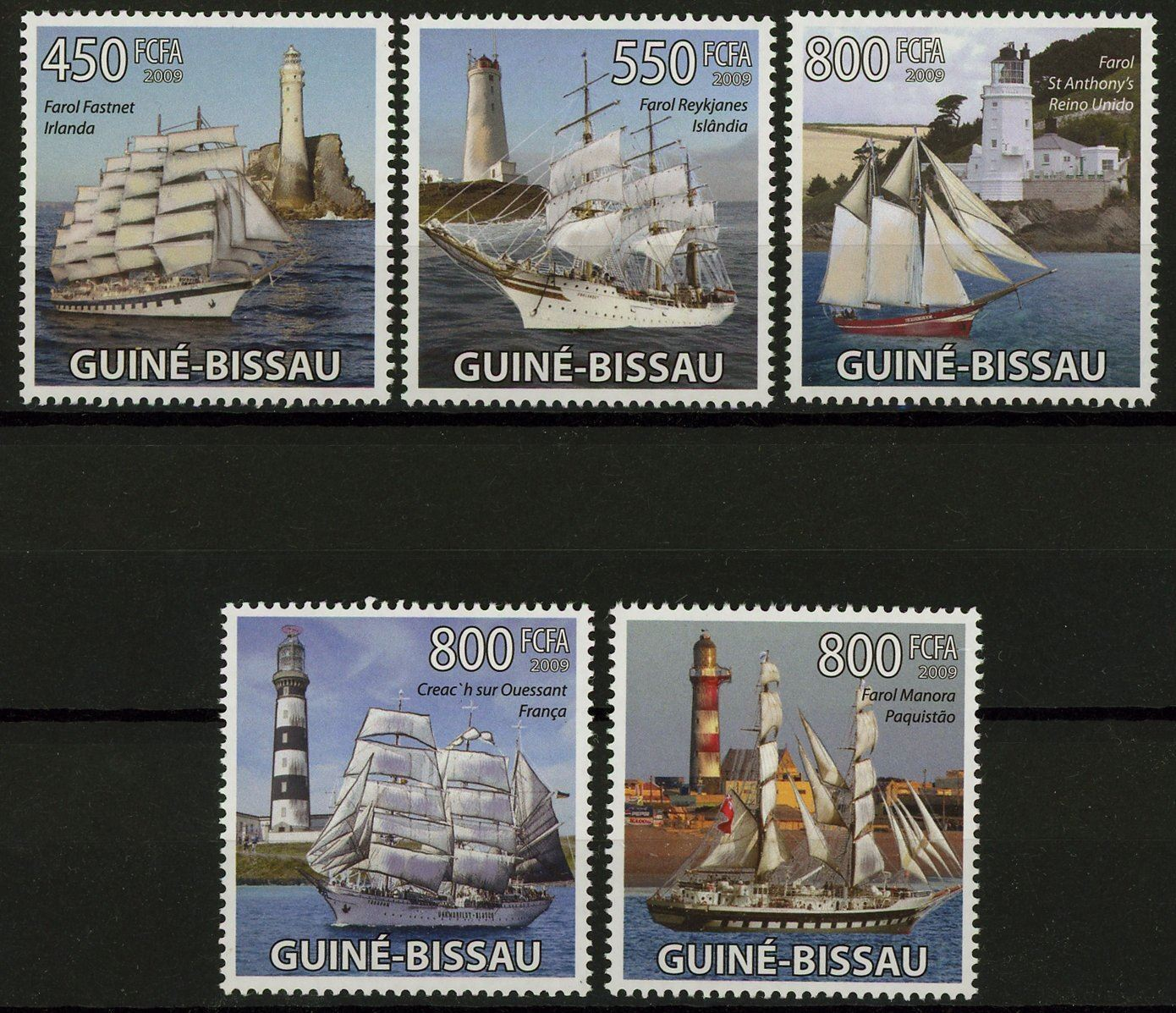 Guiné-Bissau Famous Sailboats and and 50 similar items