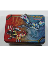 Pokemon TCG Card Game Collector's Tin Chest Lunchbox 2014  - $18.99