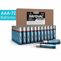 Rayovac AAA Batteries, Alkaline Triple A Batteries 72 Battery Count - $30.83