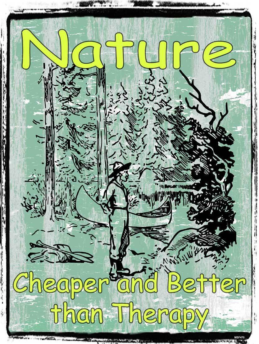 Nature Better Than Therapy