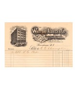 1899 Whitford Aldrich Wholesale Grocers & COFFEE Roasters Providence RI ... - $14.99