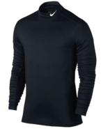 NEW NIKE MEN Pro Base Layer Dri-Fit Training Top Black/White 748869 010 - $26.91