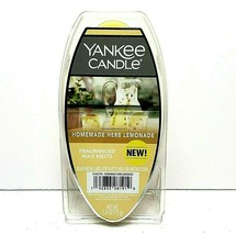 NEW Yankee Candle Homemade Herb Lemonade Fragranced Wax Melts Country Su... - $14.52
