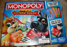 Monopoly Junior Electronic Banking 2017-Complete - $24.00