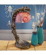 Siren of the Sea Mermaid Art Deco Illuminated Sculpture - $226.86