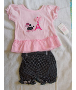 2 Piece Baby Girl Outfit Swiggles NWT French Po... - $14.80