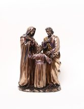 9 Inch The Holy Family Orthodox Religious Resin Statue Figurine - $69.29