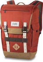 "Dakine VAULT 25L Mens 17"" Laptop Backpack Bag Brick Red Khaki - $90.00"