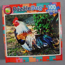 Cra-Z-Art Puzzle Bug Colorful Chicken Rooster Farm Animal Bird 8.75x11.2... - $3.99