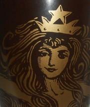2012 Starbucks Coffee CHOCOLATE BROWN 12 oz Handled Mug MERMAID - $14.84