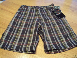 Boys Rip Curl 23 W clyde shorts NEW NWT plaid youth - $19.69