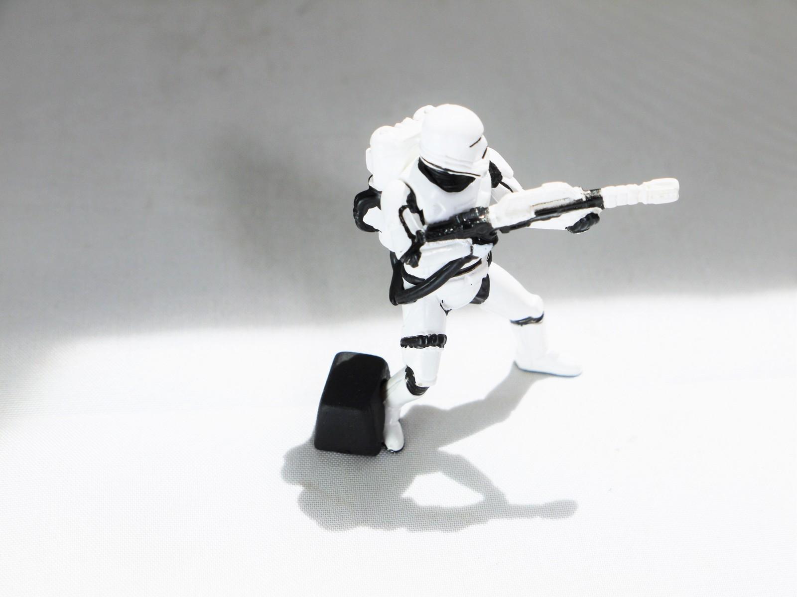 ARTS STAR WARS Characters GACHA GALAXY DESKTOP FIRST ORDER Phase 2 Flametrooper